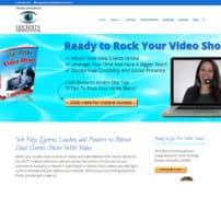 wordpress site for video company