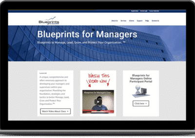Management Training Website
