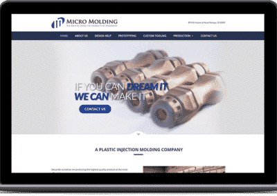 Website Redesign for Production Company