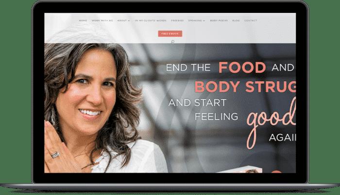 nutrition coach website